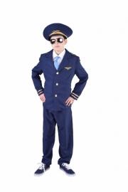 Piloten kostuum easy
