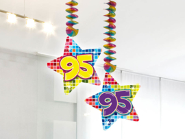 Hangdecoratie 95 jaar blocks