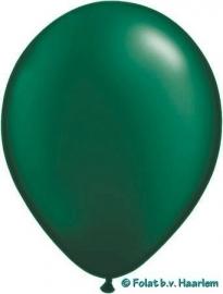 Kwaliteitsballon standaard - donkergroen - 100 stuks
