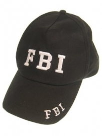 FBI baseball pet