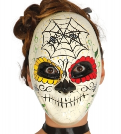 Ivoren masker Day of the dead