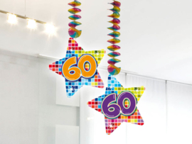 Hangdecoratie 60 jaar blocks