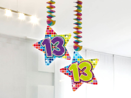 Hangdecoratie 13 jaar blocks
