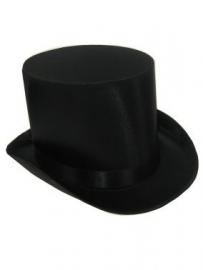 Luxe Hoge hoed satijn
