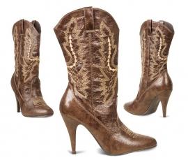 Bruine Cowgirl laarzen
