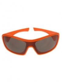 Ski bril oranje
