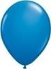 Kwaliteitsballon standaard - donkerblauw - 50 stuks