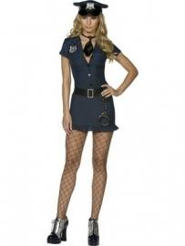Politie jurkje blauw