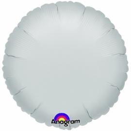 Folieballon zilver excl. helium