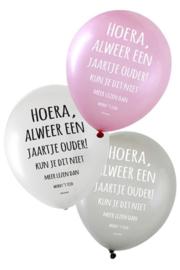 Ballonnen hoera alweer.....