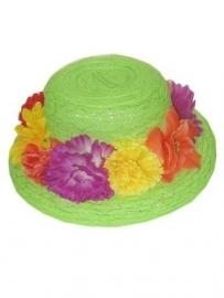 Bloemen hoed