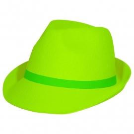 Neon hoed Groen