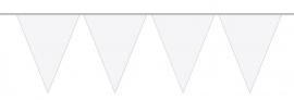 Mini vlaggenlijn wit