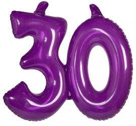 Opblaas cijfer 30 jaar