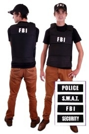 FBI vest deluxe 4 in 1