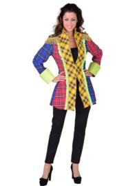 Carnavals jasje geruit