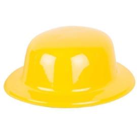 Bolhoed pvc geel
