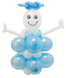 Baby Boy Diy balloon kit