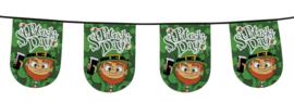 Vlaggenlijn rond St. Patricks day