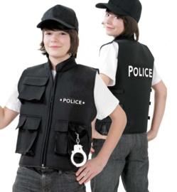 Police vest luxe kinderen