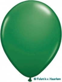 Kwaliteitsballon standaard - groen - 10 stuks