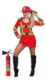 Brandweer kostuum danes