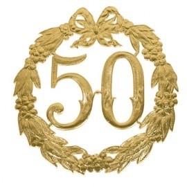 Huldekrans - 50 jaar