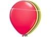 Neon ballonnen assortie per 8 stuks