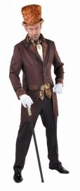 Compleet  Victoriaanse heer kostuum