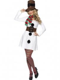 Miss sneeuwman jurkje