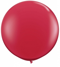 Ballonnen 3ft ruby red