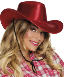 Cowgirl hoed Rodeo rood