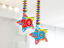 Hangdecoratie 30 jaar blocks
