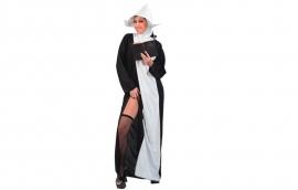 Sexy nonnen jurk