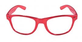 Feestbril rood