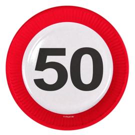 Verkeersbord bordjes 50 jaar