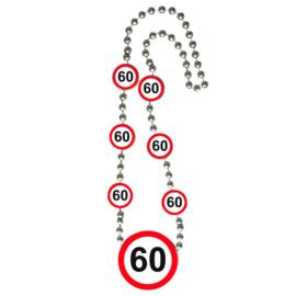 Ketting verkeersbord 60 jaar