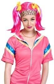 Pruik Anita pink
