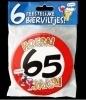 Fun Bierviltjes 65 jaar