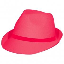 Neon hoed Roze