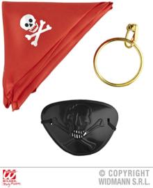 Uitdeel verkleedset piraat