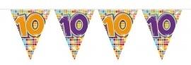 Vlaggenlijn 10 jaar medium