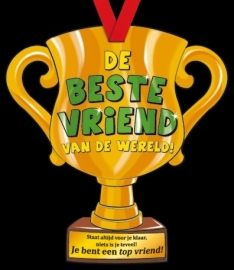 Party trofee beste vriend