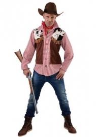 Western overhemd en vest