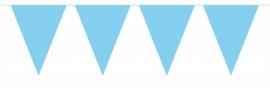 Mini vlaggenlijn baby blauw