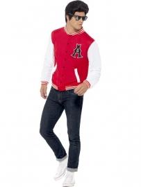 Grease jasje rood