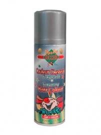 Haarspray / Hairspray glitter zilver