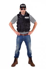 Police tactical vest deluxe