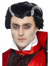Dracula pruik luxe