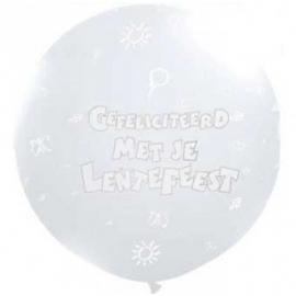 Lentefeest ballon 90 cm